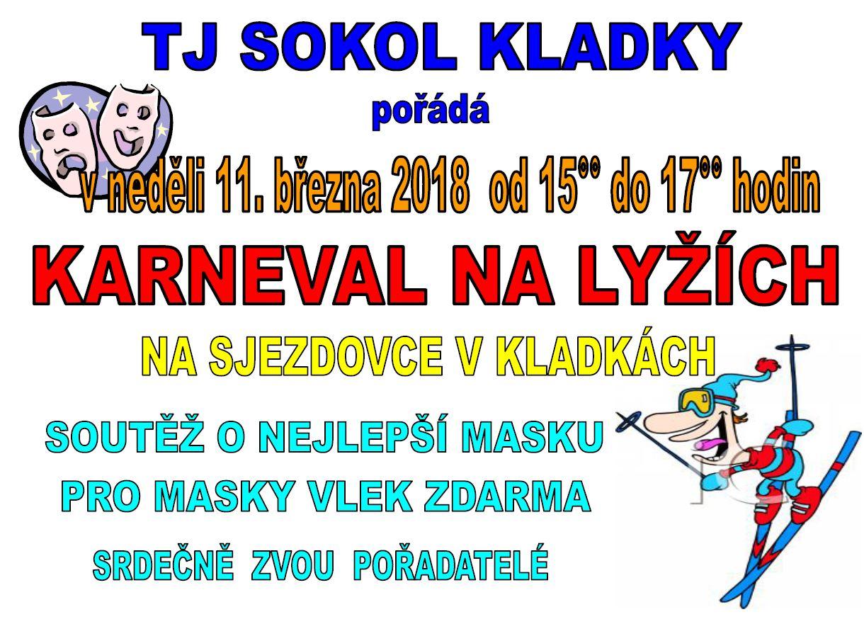 Plakát Karneval na lyžích 2018